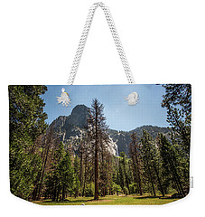 Yosemite View 18 Weekender Tote Bag