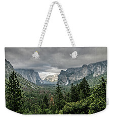 Yosemite View 36 Weekender Tote Bag