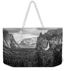 Yosemite View 38 Weekender Tote Bag