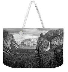 Yosemite View 38 Weekender Tote Bag