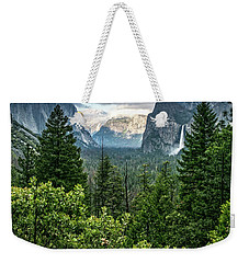 Last Light For Tunnel View Weekender Tote Bag