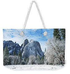 Yosemite Winter Fantasy Weekender Tote Bag
