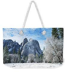 Yosemite Winter Fantasy Weekender Tote Bag