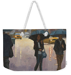 You And I And The Rain Weekender Tote Bag