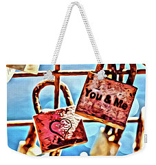 You And Me Weekender Tote Bag