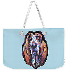 You Are My Basset Hound Heart Weekender Tote Bag