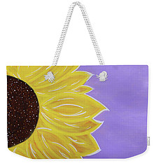 You Are My Sunshine Weekender Tote Bag by Cyrionna The Cyerial Artist