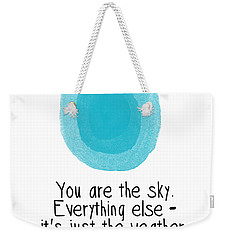You Are The Sky Weekender Tote Bag