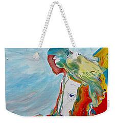 You Bring The Color Weekender Tote Bag