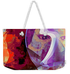 You Can Beat It Weekender Tote Bag by Fania Simon
