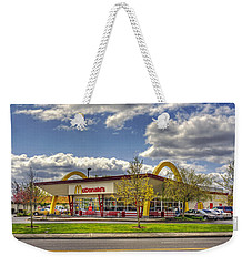 Weekender Tote Bag featuring the photograph You Deserve A Break Today by Chris Anderson