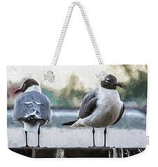 You Got My Back, Yeah,  I Got Your Back Weekender Tote Bag
