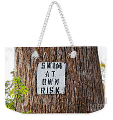 Weekender Tote Bag featuring the photograph You Know Better ...  by Ray Shrewsberry