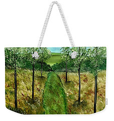 You Me And The Road Weekender Tote Bag