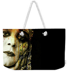 Weekender Tote Bag featuring the mixed media You Never Got To Hear Those Violins by Paul Lovering