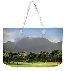 Weekender Tote Bag featuring the photograph You Still Can Touch My Heart by Laurie Search