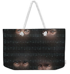 You Won T See Me Weekender Tote Bag by Pedro L Gili