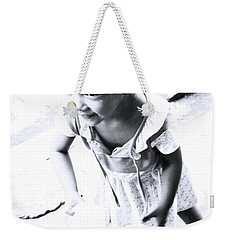 Weekender Tote Bag featuring the photograph You'll Spill It by Jez C Self