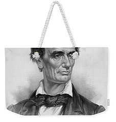Young Abe Lincoln Weekender Tote Bag by War Is Hell Store