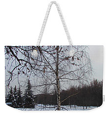 Young Birch Weekender Tote Bag