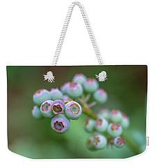 Young Blueberries Weekender Tote Bag