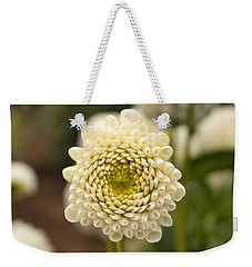 Weekender Tote Bag featuring the photograph Young Dahlia by Brian Eberly