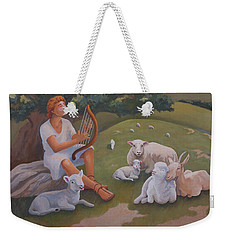 Young David As A Shepherd Weekender Tote Bag