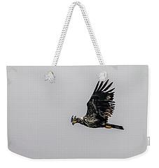 Young Eagle In Flight 07 Weekender Tote Bag