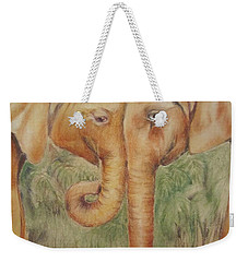 Young Elephants Weekender Tote Bag