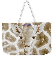 Young Giraffe Weekender Tote Bag