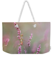 Young Grasshopper Weekender Tote Bag