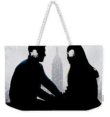 Weekender Tote Bag featuring the photograph Young Love     by Chris Lord