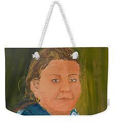 Young Model Weekender Tote Bag