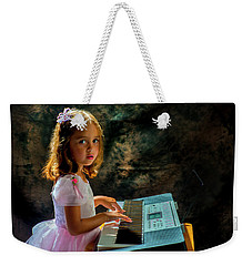 Young Musician Weekender Tote Bag