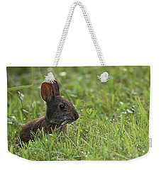 Young Rabbit Dining Weekender Tote Bag