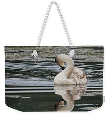 Young Reflection  Weekender Tote Bag