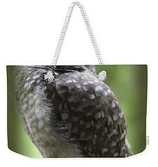 Young Snowy Owl Weekender Tote Bag