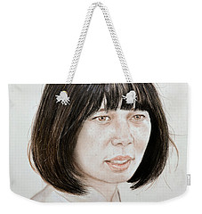 Young Vietnamese Woman Weekender Tote Bag by Jim Fitzpatrick