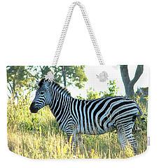 Young Zebra Weekender Tote Bag