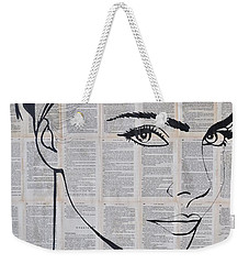 Your Eyes Weekender Tote Bag