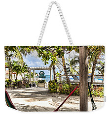Weekender Tote Bag featuring the photograph Your Hammock Awaits You by Lawrence Burry