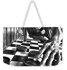 Your Move Dad Bw Art Weekender Tote Bag