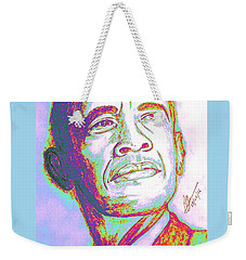 Your President  Weekender Tote Bag by Collin A Clarke