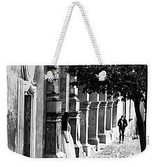 Where Have You Been Young Lady Weekender Tote Bag