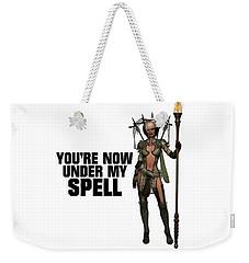 You're Now Under My Spell Weekender Tote Bag