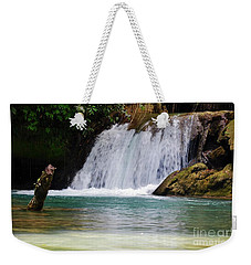 Y S Falls  South Coast, St Elizabeth Parish   Jamaica Weekender Tote Bag