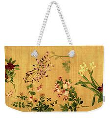 Yuan's Hundred Flowers Weekender Tote Bag