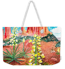 Yucca In Monument Valley Weekender Tote Bag by Eric Samuelson