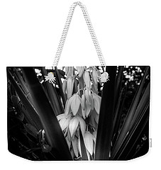 Yucca In The Woods In Black And White Weekender Tote Bag