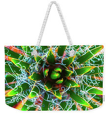 Weekender Tote Bag featuring the photograph Yucca Sunrise by Darren White